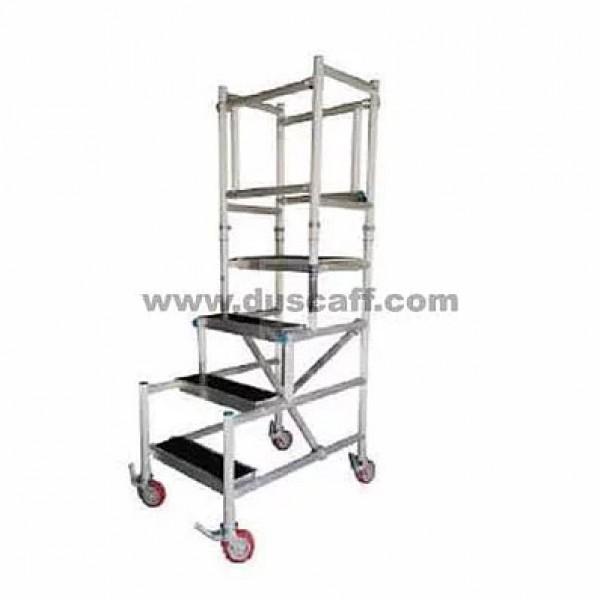 Aluminium Podium Scaffolding | 3 meters | 5 Steps + 1 Platform