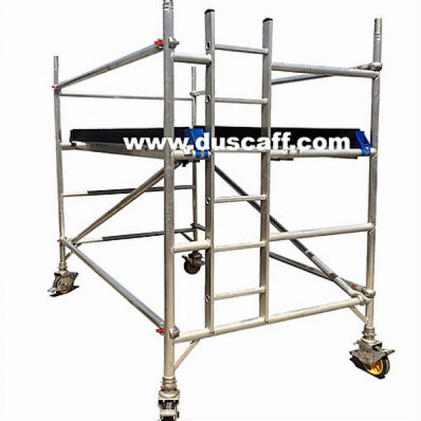 Aluminium Double Width Mobile Tower | 2.2 meters Height