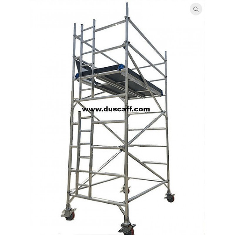Aluminium Double Width Mobile Tower | 4.3 meters Height
