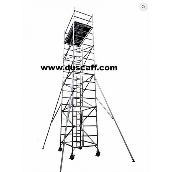 Aluminium Double Width Mobile Tower | 9.3 meters Height