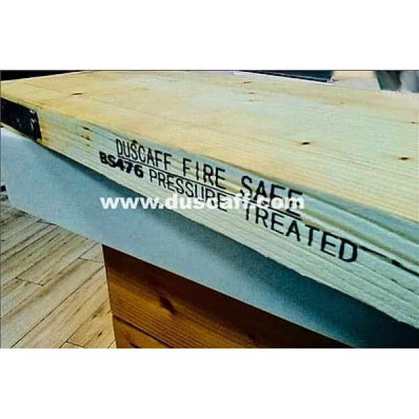 Duscaff Fire Safe BS2482:2009 Scaffold Board | BS476 | 3.90m long