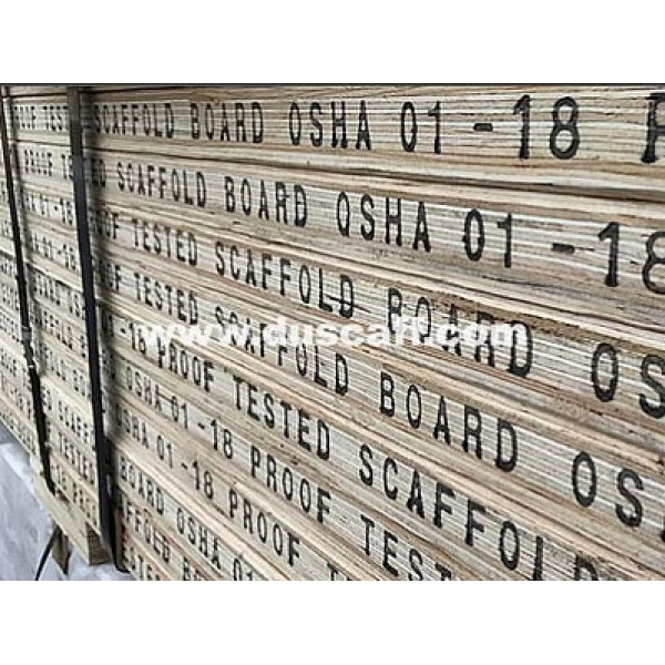 LVL Scaffold Board | OSHA Proof Tested | 1.0m | Scaffold Plank | China