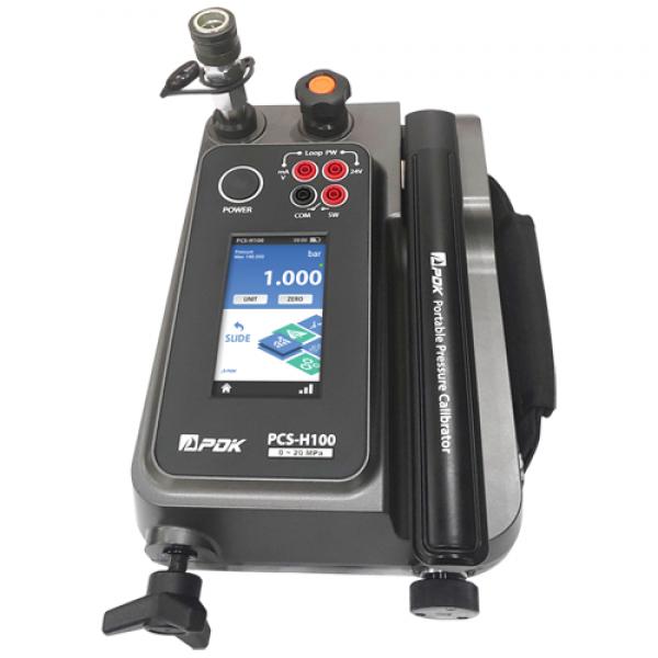 PCS-H100 휴대용 유압교정기