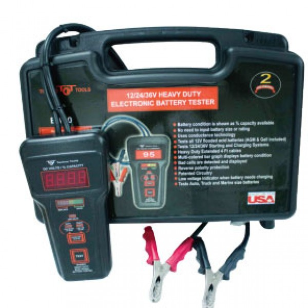 HEAVY DUTY BATTERY TESTER