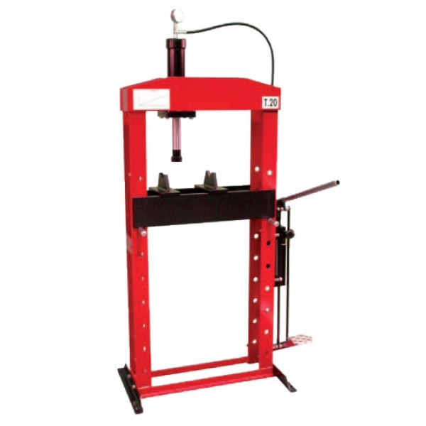 HAND OPERATED WORKSHOP PRESS 30 TON
