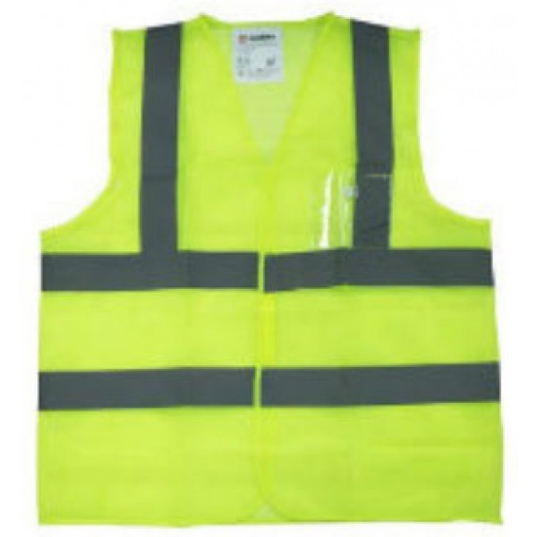 SAFETY VEST 120 GSM 4 REFLECTIVE BAND