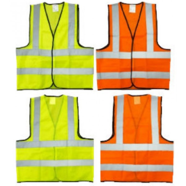 SAFETY VEST 60 GSM FABRIC 4 REFLECTIVE BAND