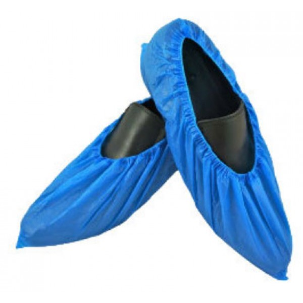 CPE(CHLORINATED POLYETHYLENE) SHOE COVER 2.0G