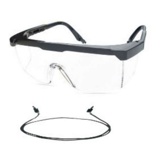 FULL PROTECTION GOGGLES CLEAR
