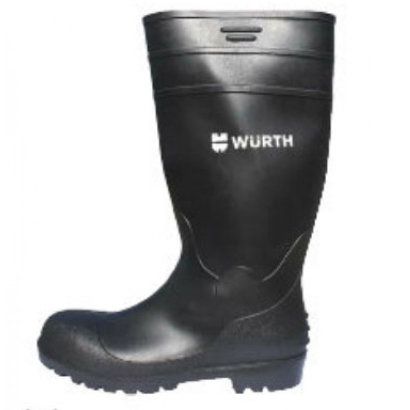 S5 RUBBER SAFETY BOOT - BLACK