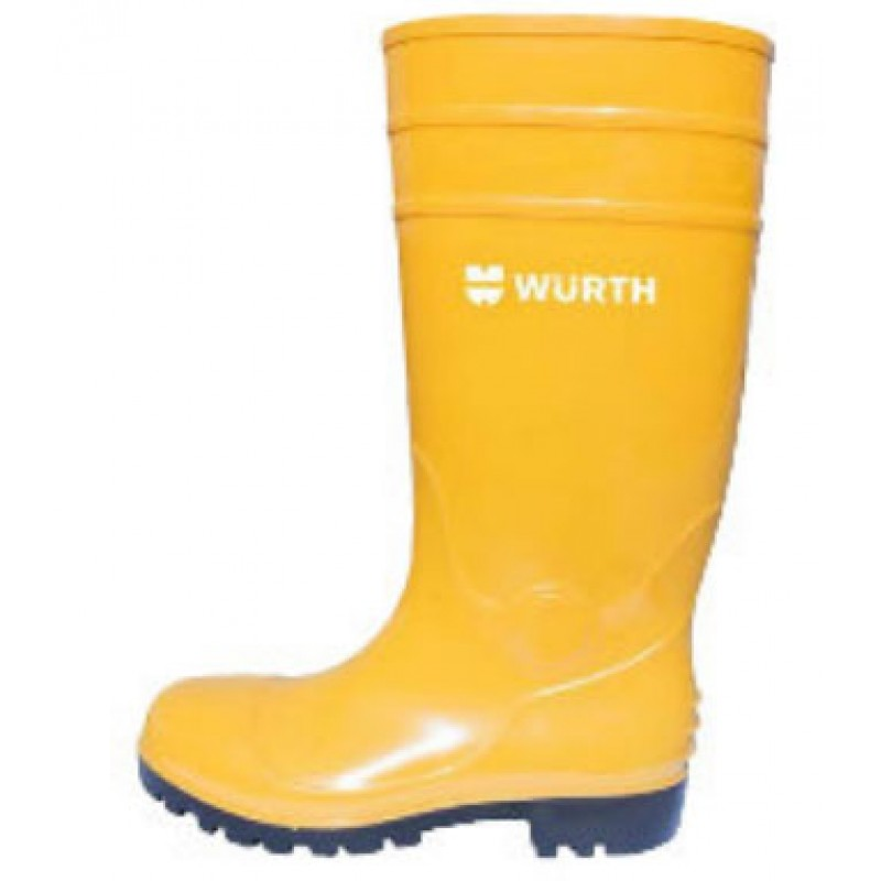 S5 RUBBER SAFETY BOOT - YELLOW