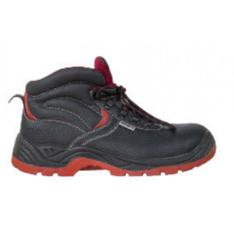 SAFETY SHOE BLACK HIGH ANKLE