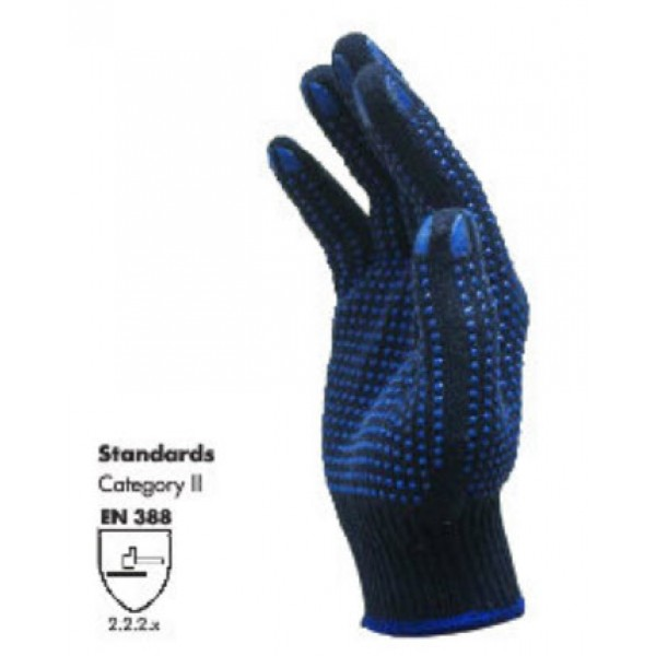 DOUBLE SIDE DOTTED GLOVE