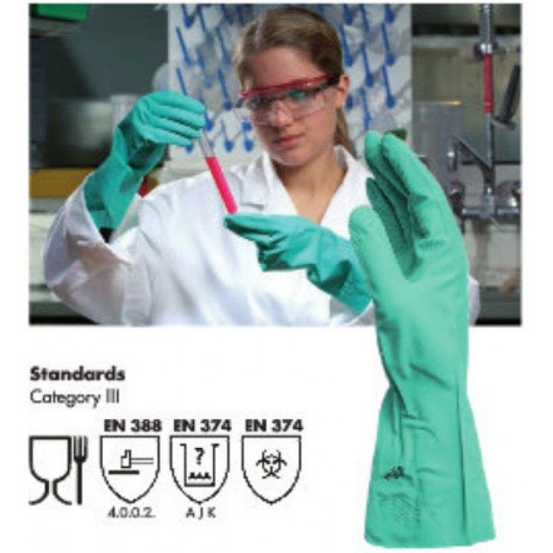 NITRILE CHEMICAL PROTECTIVE GLOVE