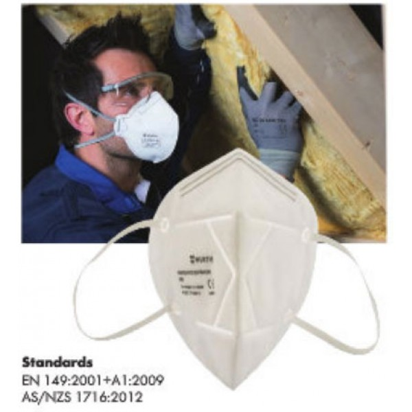 FOLDABLE PARTICULATE RESPIRATOR FFP2